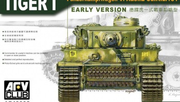 Tiger I Early Version (1:48) - AFV Club