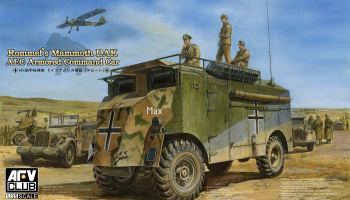 Rommels Mammoth DAK Armoured Command Car (1:35) - AFV Club