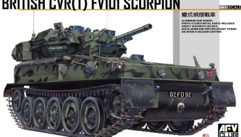 FV101 Scorpion  1/35 - AFV Club