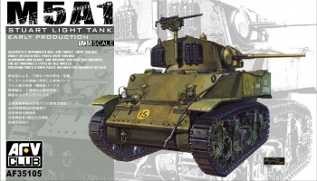 M5A1 Stuart (early) (1:35) - AFV Club