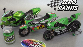 Kawasaki Solid Lime Green - Zero Paints