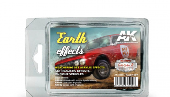 EARTH EFFECTS (RALLY SET) - AK-Interactive