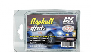 ASPHALT EFFECTS (RACE SET) - AK-Interactive