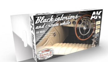 BLACK INTERIORS AND CREAM WHITE - AK-Interactive
