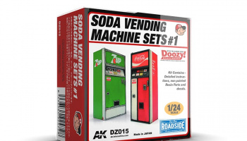 SODA VENDING MACHINE SETS 1 - AK-Interactive