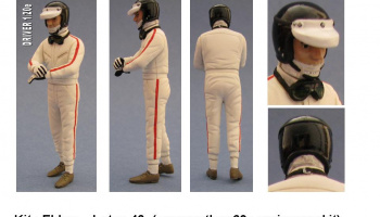 Driver Figure Lotus 49 - GF Models