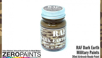 RAF Dark Earth BS450 Paint 30ml - Zero Paints