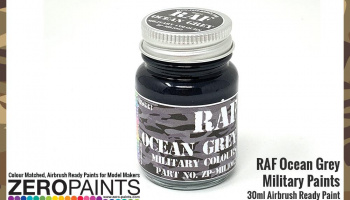 RAF Ocean Grey BS633 Paint 30ml - Zero Paints