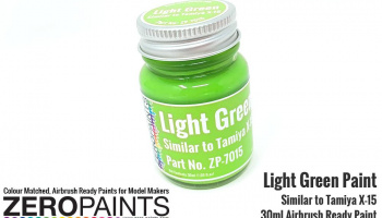 Light Green Paint 30ml - Similar to Tamiya X-15 - Zero Paints