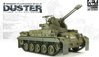 German Flakpanzer M-42 A1 Duster (1:35) - AFV Club