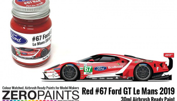 #67 Ford GT Le Mans Red Paint 30ml - Zero Paints
