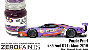 Wynn's/Keatings #85 Ford GT Le Mans Purple Pearl Paint 30ml - Zero Paints