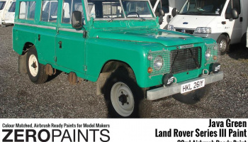 Land Rover Series III Java Green Paints - 30ml - Zero Paints