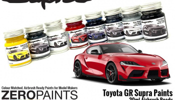 Toyota GR Supra Prominence Red Paint 30ml - Zero Paints