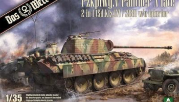 Pzkpfwg.V Panther A late 2 in 1 - Das Werk
