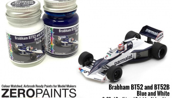 Brabham BT52 and BT52B Blue and White Paint Set 2x30ml - Zero Paints