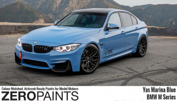 BMW Yas Marina Blue Paint 60ml - Zero Paints