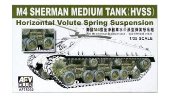 M4A3E8 HVSS Suspension (1:35) - AFV Club