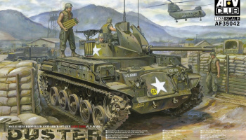 M42A1 Duster (Late Type) Vietnam War (1:35) - AFV Club
