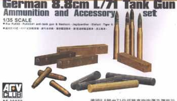 8.8cm L/71 Ammunition and Accessories 1:35 - AFV Club