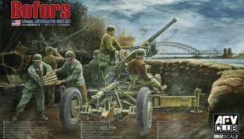 40mm Bofors AA Automatic Gun M1 1/35 - AFV Club