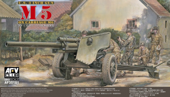 105 mm Howitzer M5 Carriage M6 1/35 - AFV Club