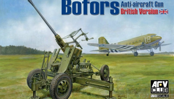 Bofors 40mm Mk III Anti Aircraft Gun (British Version) 1/35 - AFV Club