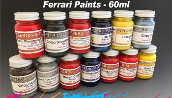 Ferrari/Maserati Blue Montecarlo  60ml - Zero Paints