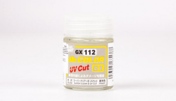 Mr.Color GX112 Super Clear III UV Cut Gloss - Gunze