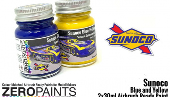 Sunoco Blue and Yellow Paint Set 2x30ml - Zero Paints