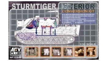 Sturmtiger Interior - Conversion Kit (1:35) - AFV Club