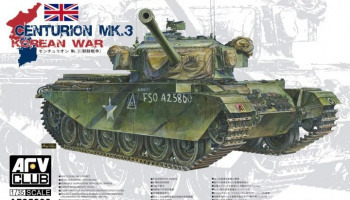 Centurion Mk.3 Korean War 1/35 - AFV Club