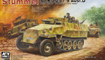 Sd.Kfz. 251/9 Ausf. D early type 1/35 - AFV Club