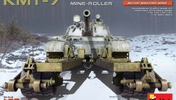 KMT-7 EARLY TYPE MINE-ROLLER (1/35) - Mini Art