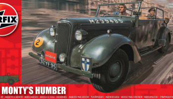 Monty's Humber Snipe Staff Car 1:32 - Airfix