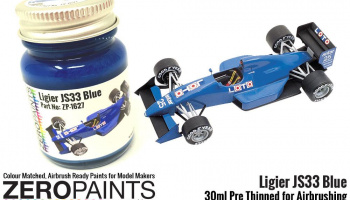Ligier J33 Blue Paint 30ml - Zero Paints