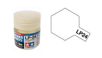 LP-24 Semi Gloss Clear 10ml - Tamiya