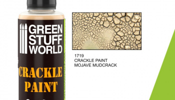 Crackle Paint - Mojave Mudcrack 60ml - Green Stuff World