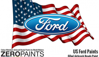 Ford USA Paints Calypso Green 60ml - Zero Paints
