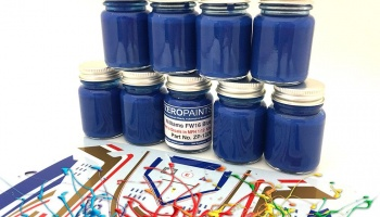 Williams FW16 Blue Paint (matched to MFH Decals) 30ml - Zero Paints