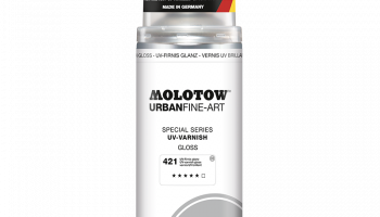 URBAN FINE-ART™ UV-LAK MATT TRANSPARENT 400ML - Molotow