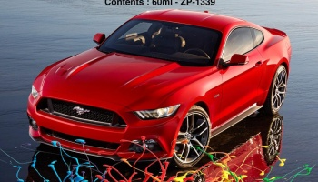 2015 Ford Mustang Ruby Red Paints 2x30ml - Zero Paints