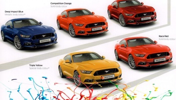2015 Ford Mustang Race Red Paints 60ml