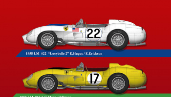 Ferrari 250TR Fulldetail Kit - Model Factory Hiro