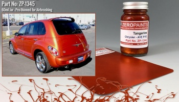 Chrysler Tangerine Paint 60ml - Zero Paints