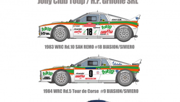 Lancia Rally 037 Totip/Grifone/1000lakes Fulldetail Kit - Model Factory Hiro