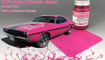 Panther Pink /Moulin Rouge Paint - 70's Dodge, Plymouth, Mopar 60ml - Zero Paints