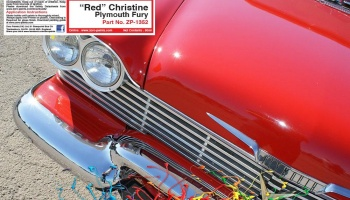 Christine Red - Plymouth Fury 60ml - Zero Paints