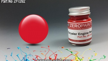 Chrysler USA Red Engine Paint 30ml - Zero Paints