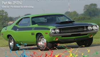 1970's Dodge Challenger R/T Green Go Paint 60ml - Zero Paints